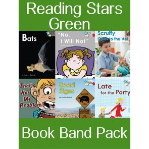Reading Stars Green Book Band Pack