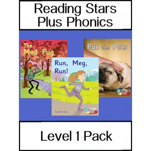 Reading Stars Plus Phonics Level 1 Pack