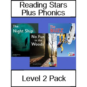 Reading Stars Plus Phonics Level 2 Pack