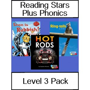 Reading Stars Plus Phonics Level 3 Pack
