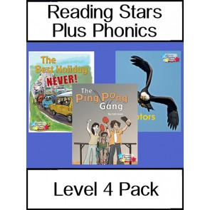 Reading Stars Plus Phonics Level 4 Pack