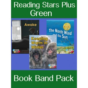 Reading Stars Plus Green Book Band Pack