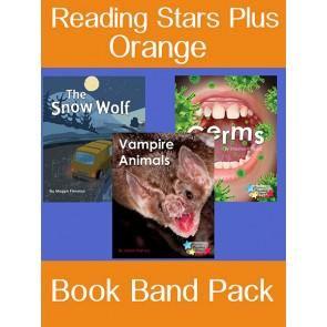 Reading Stars Plus Orange Book Band Pack