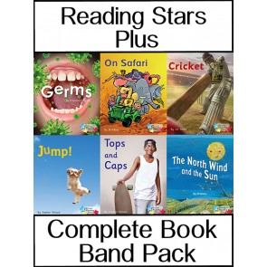 Reading Stars Plus Book Band Pack