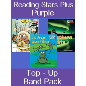 Reading Stars Top-up Pack Purple Band