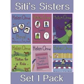 Siti's Sisters Reading Books Set 1