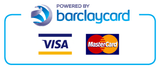 Secured by Barclaycard and PayPal